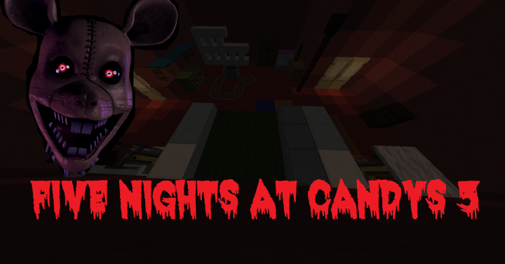 Five Nights At Candys 3 Minecraft Map
