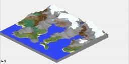 Survival simple Landscape Minecraft Project