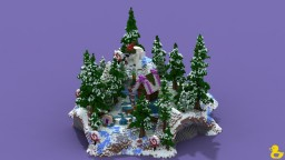 Christmas Candy Lobby Minecraft Project