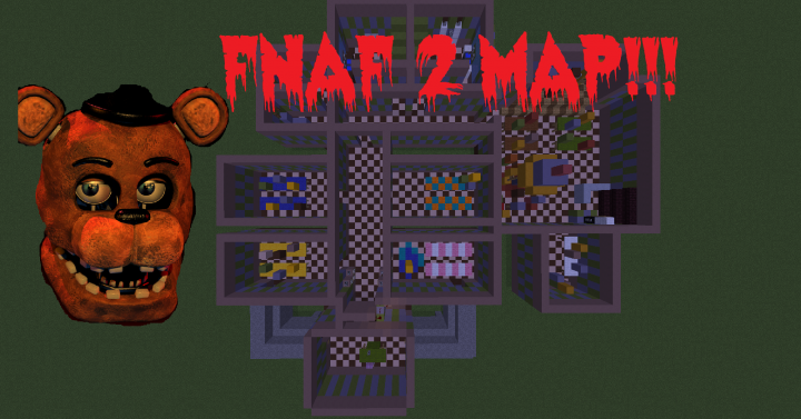 Five Nights At Freddys 2 Map v1 0 Minecraft Project