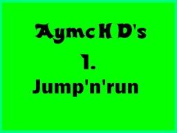 AymcHD's 1. Jump'n'Run map Minecraft Project