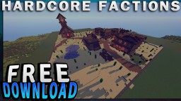 MINECRAFT 1.7/1.8 WESTERN HCF SPAWN WITH DOWNLOAD Minecraft Project