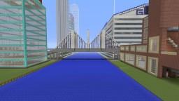 Cross-Town Bridge Minecraft Project