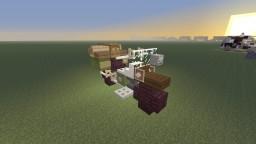 Kino no Tabi, Hermes motorrad Minecraft Project