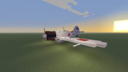 WWII Imperial Japanese Mitsubishi A6M Zero fighter Minecraft