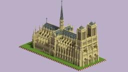 Cathédrale Notre-Dame de Paris Minecraft