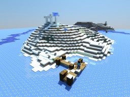 The Frozen Forgotten Temple Minecraft Project