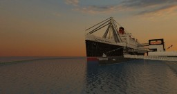 Rms Queen Mary In (Long Beach CA LA) Scale 4:1 WITH ALL INTERIORS Minecraft Map & Project