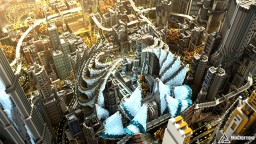 Complexcity - The ultimate futuristic city Minecraft Map & Project