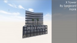 """X Tower"" Modern Tower 