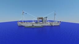 WW1 U-Boat salvage tug | S.M.S. Vulkan | Minecraft Map & Project