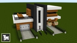 Minecraft: How To Build a Small Modern House Easy (Episode 2) 2017 Minecraft Map & Project