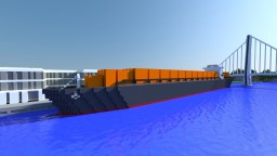 Containership New Horizon Minecraft Map & Project