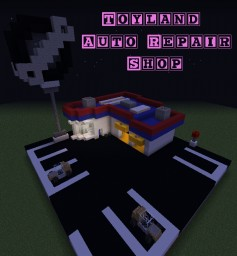 ToyLand Series - Toy Car Repair Shop Minecraft Project