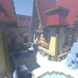 Snow PvP arena (download) Minecraft Project
