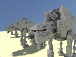 AT - M6 Walker STAR WARS Minecraft Map & Project
