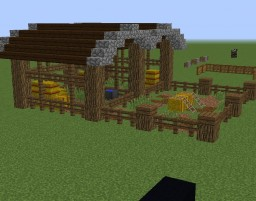 Small animal pen Minecraft Project