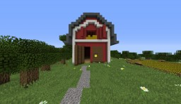 MCYT's Barn [NO INTERIOR] Minecraft Map & Project