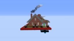 1 Chunk piston house Minecraft Project