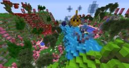 Colorful terrain... fish? blub blub :P Minecraft Project