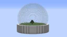 SNOWGLOBE SURVIVAL CHALLENGE Minecraft Map & Project