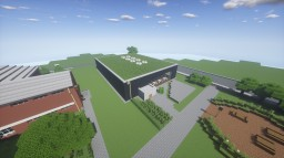 Schulzentrum Hohenhameln Mensa - Renoviert/renovated Minecraft Map & Project