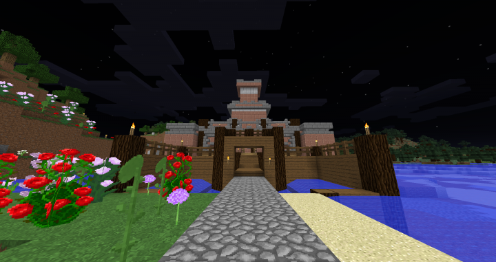 Castle near Spawn