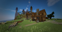 MINI MEDIEVAL WORLD Minecraft Project