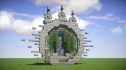 Stone Bricks Portal Minecraft Project