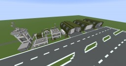 Military Air Base Minecraft Map & Project