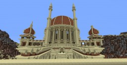 The Temple Of Rawha Minecraft Project