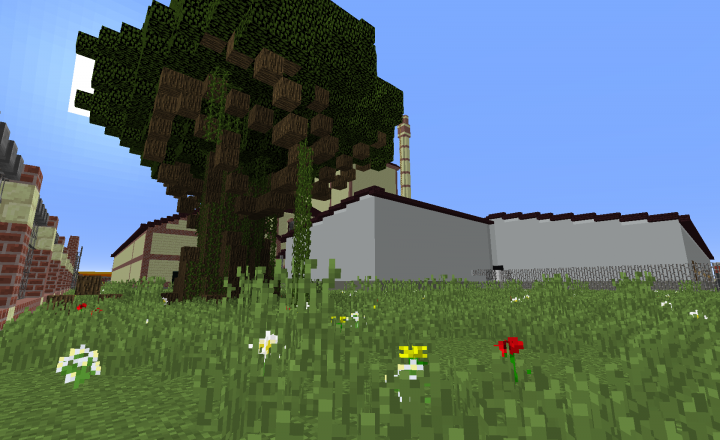 screenshot from behind the brewery