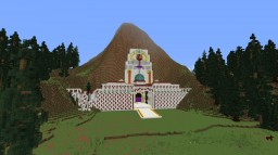 woodland portal temple Minecraft Project
