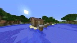 Simple cottage near water Minecraft Map & Project