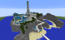 Air Temple Island 2.o Minecraft Project