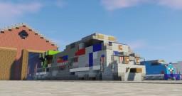 "1:5:1 Union Pacific ""Spirit of The Union Pacific"" EMD SD70AH Heritage Unit! Minecraft"
