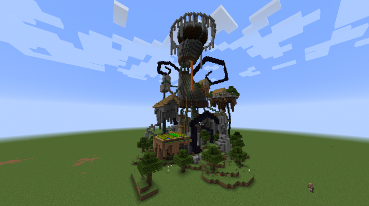 Front view with default texture pack