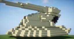 Star Wars - AAT Battle Tank Minecraft Map & Project