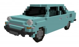 SKODA 1000 MB 1.0 31kW (1964) Minecraft Project
