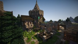 Debtor Prison from Anno 1404 Minecraft Project