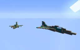 Dassault Mirage 2000 Minecraft Project