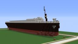 1 : 2.5 Scale Titanic ! (107 block long Mini RMS Titanic ! ) Minecraft Project