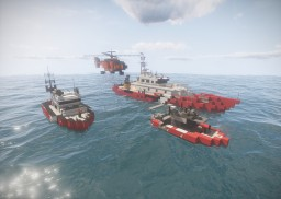 Fire Department+Coastguard mix Minecraft Project