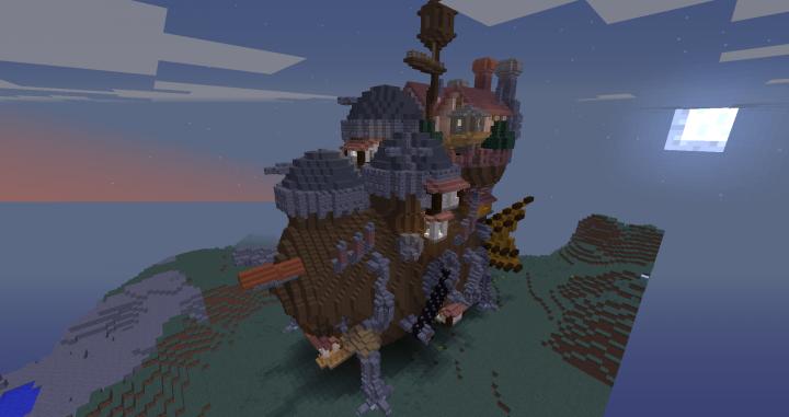 Big Walking House 1 8 1 12 2 Minecraft Map