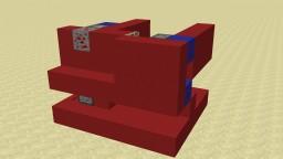 Redstone Ore Punch Door Minecraft Project