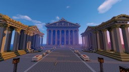 Neoclassical Temple 2 (mausoleum) Minecraft