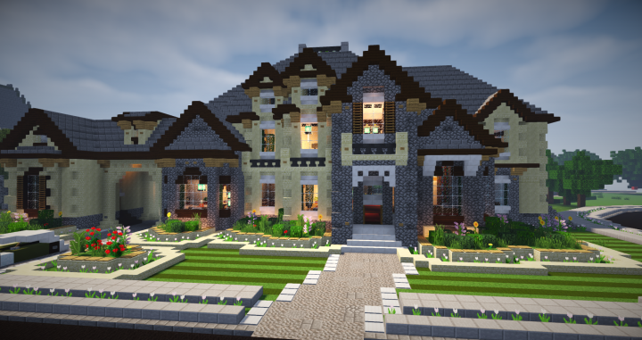 large mansion 7 minecraft project