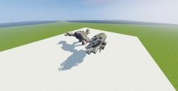Star Wars V-X4-D Ski Speeder Minecraft Project