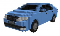 SKODA RAPID Active 1.2 MPI 55kW (2013) Minecraft Project