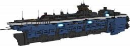 [ORIGINAL STARSHIP] : Hornet class light carrier Minecraft Project